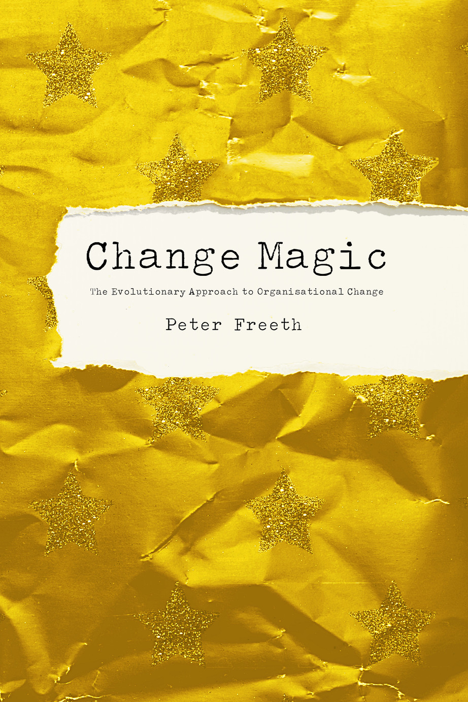 Change Magic by Peter Freeth. The Evolutionary Approach to Organisational Change. Corporate managers know that change is expensive, and traditional change programs are largely ineffective. Culture change doesnt change the culture, because culture isn't the cause of the problem, and it's not even something that you can change anyway. And yet, you absolutely know when it is different.  This is the very essence of Change Magic, that you cannot improve anything. You cannot even change anything. What you can do is to take action, to do something today that you did not do yesterday. Change is not an action, it's a perception.