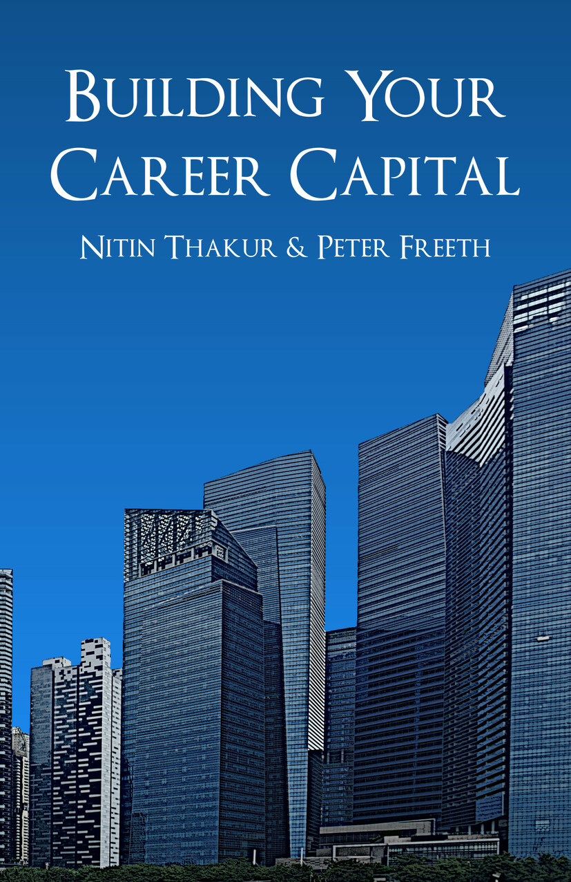 Building Your Career Capital by Nitin Thakur and Peter Freeth. How to create value and stay ahead in the talent race.  Leaders all over the world are talking about the 'war for talent'. They tell us about the need for organisations to build succession plans and develop the leaders of tomorrow, and they invest in leadership and talent programs to develop a 'talent pool' to make sure that a lifetime of valuable business knowledge isn't lost at a critical moment.